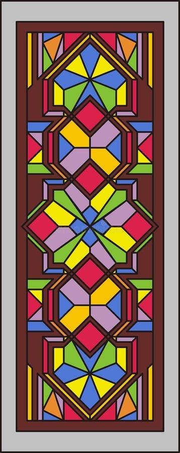 Stained-glassfenster 001 vektor abbildung