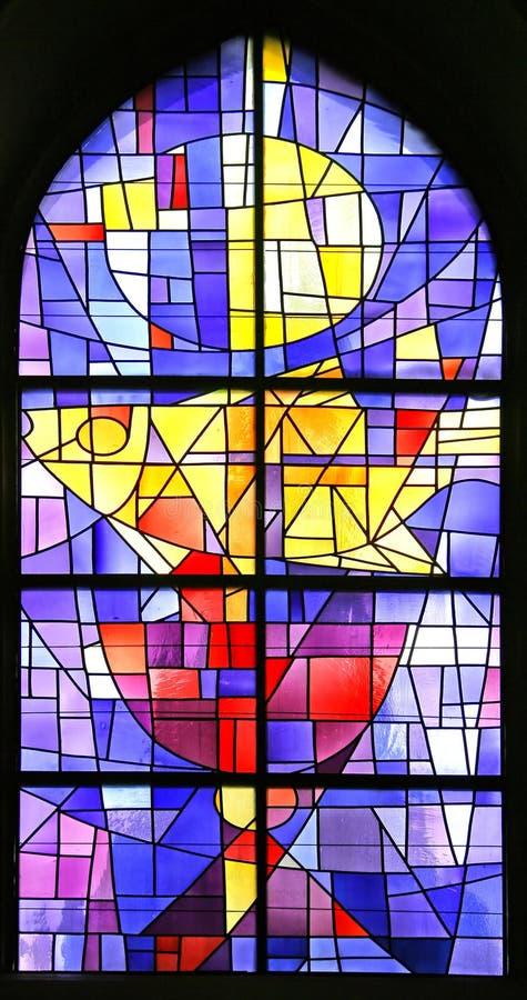 Stained-glassfenster 9 stockfotografie