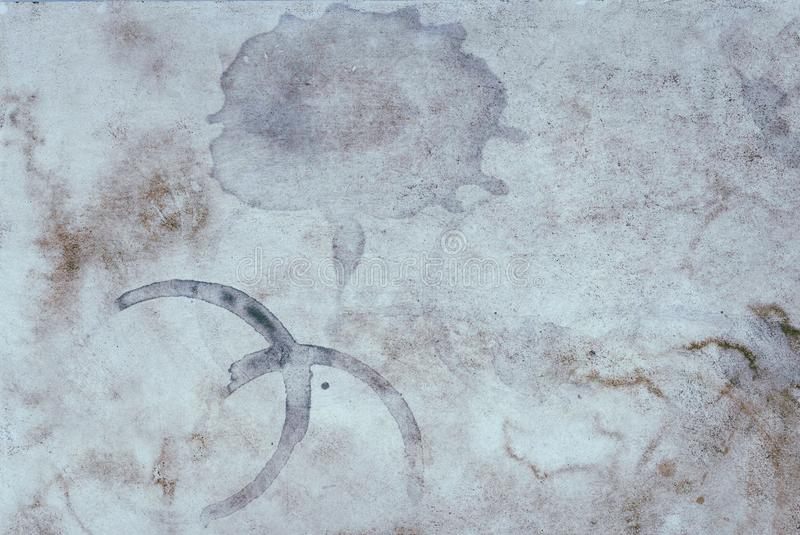 Stained old vintage paper texture background no. 45 royalty free stock photo