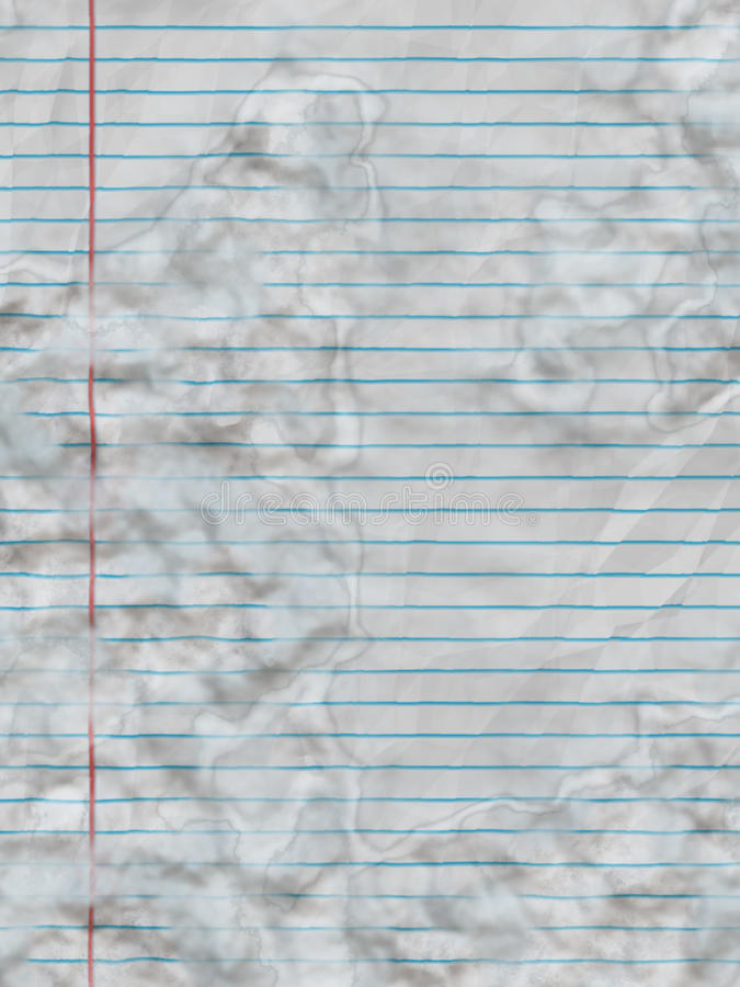Download Stained paper stock illustration. Image of margin, modern - 12665142