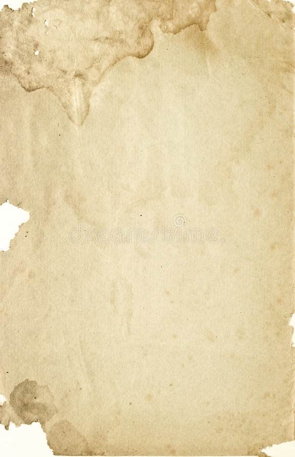 Stained paper stock images