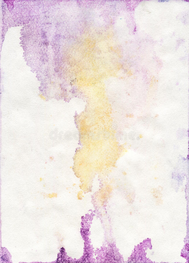 Stained Watercolor Paper Texture royalty free stock images