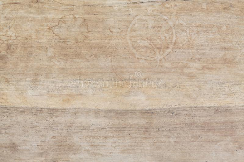 Stained wooden background stock photo