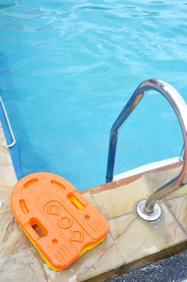 Download Stainless Ladder In The Pool Stock Image - Image: 32498925