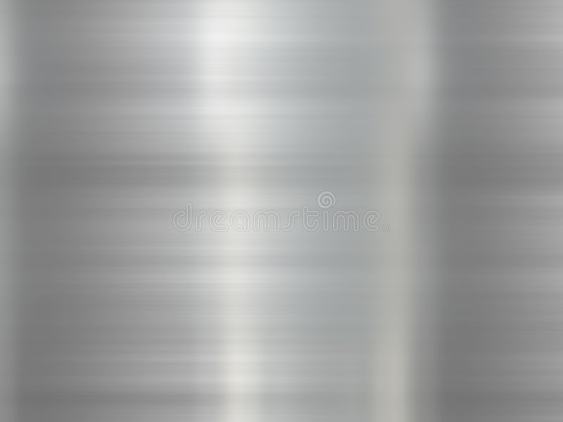 Stainless Steel Background stock illustration