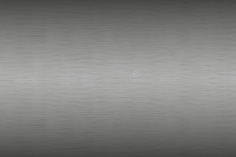 Stainless steel brushed metal background, aluminum texture royalty free illustration