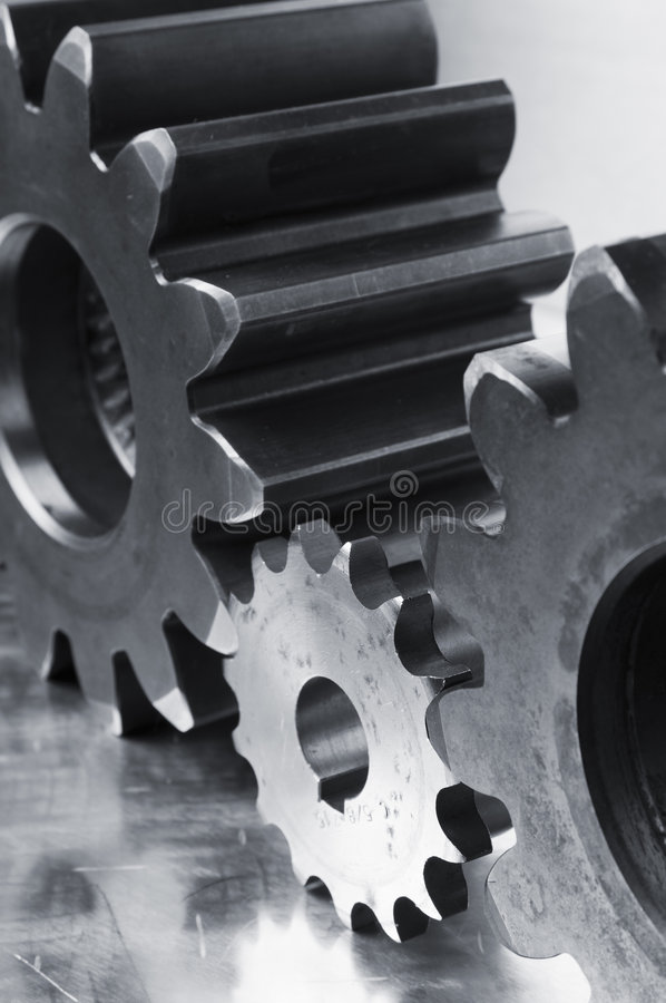 Stainless-steel concept royalty free stock images