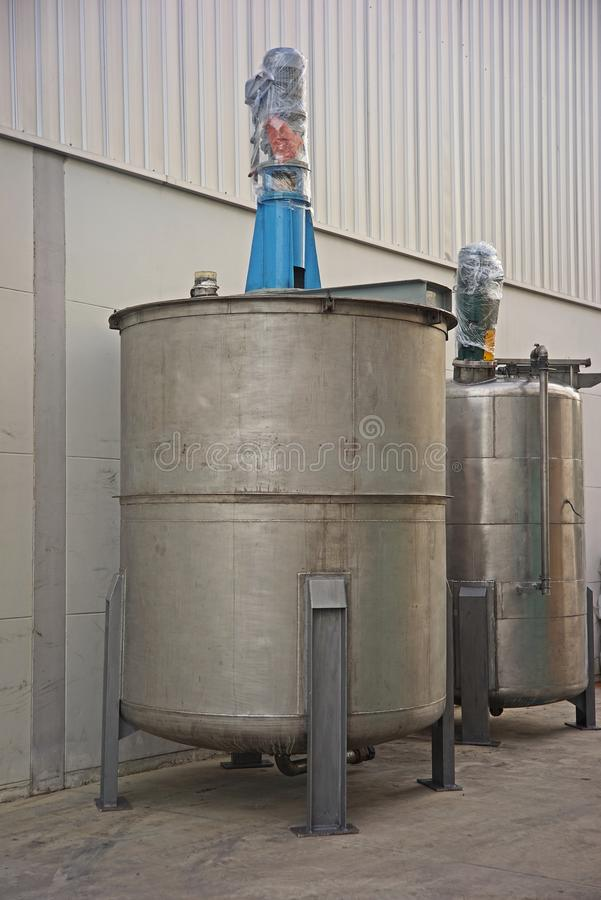 Download Stainless Steel Container Tank For Liquid Solvent Stock Image - Image of equipment storage & Stainless Steel Container Tank For Liquid Solvent Stock Image ...