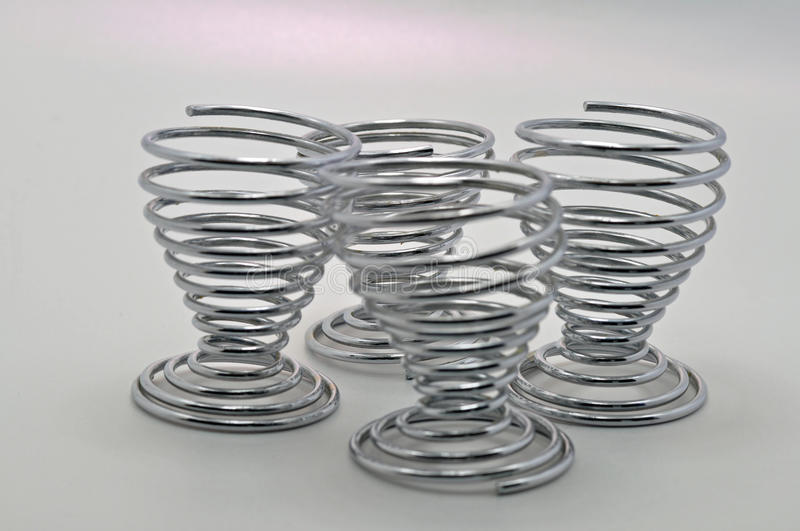 Download Stainless steel egg cups stock image. Image of poultry - 37121727