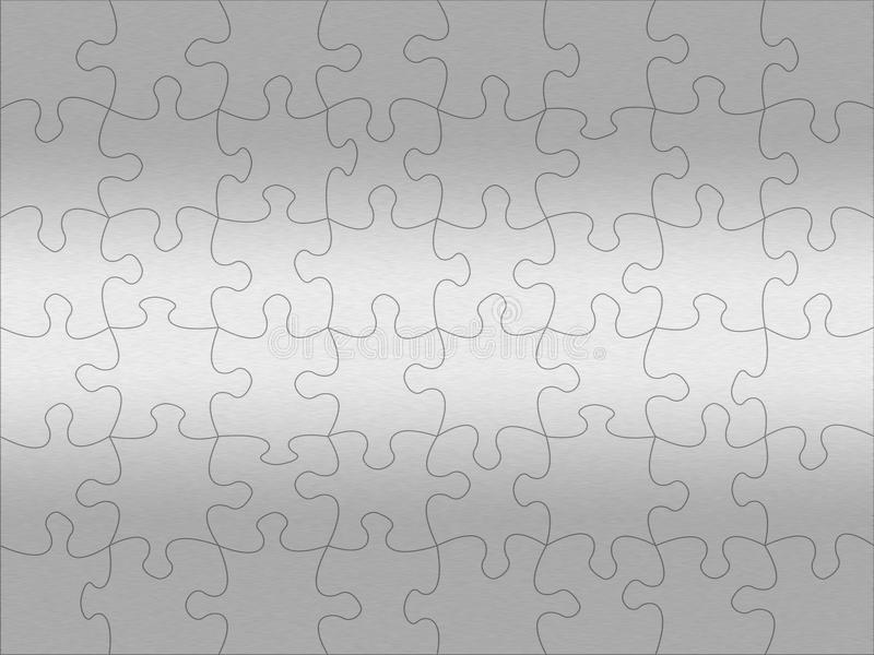 Download Stainless Steel Jigsaw Pattern Stock Illustration - Image: 16314448