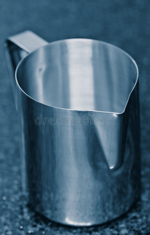 Stainless Steel Jug Royalty Free Stock Photography