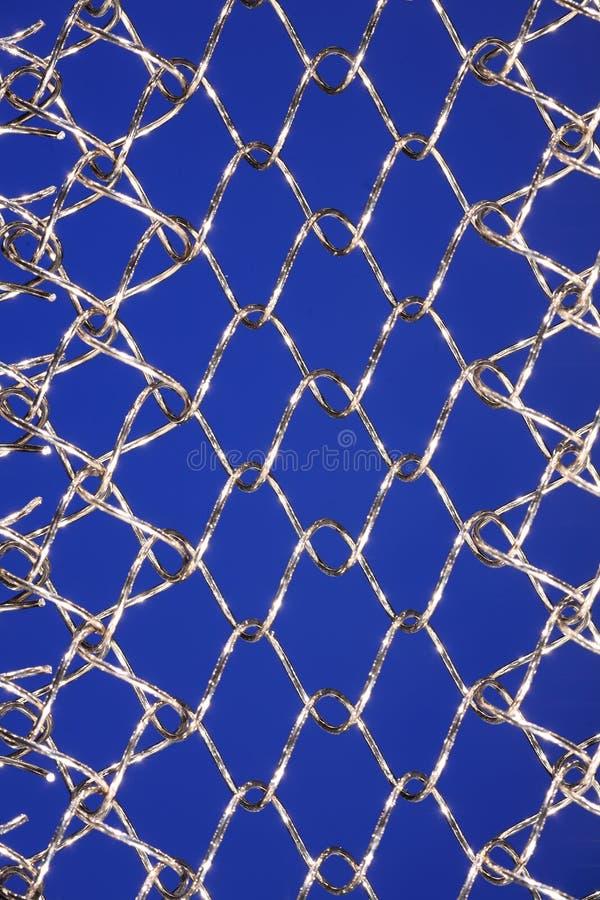 Stainless steel mesh stock photo