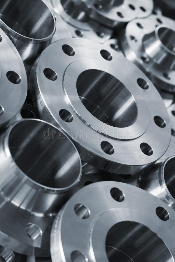 Stainless steel products royalty free stock photo