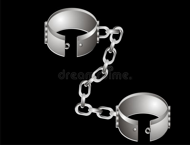 Download Stainless Steel, Shackles Illustration. Stock Vector - Image: 18888298