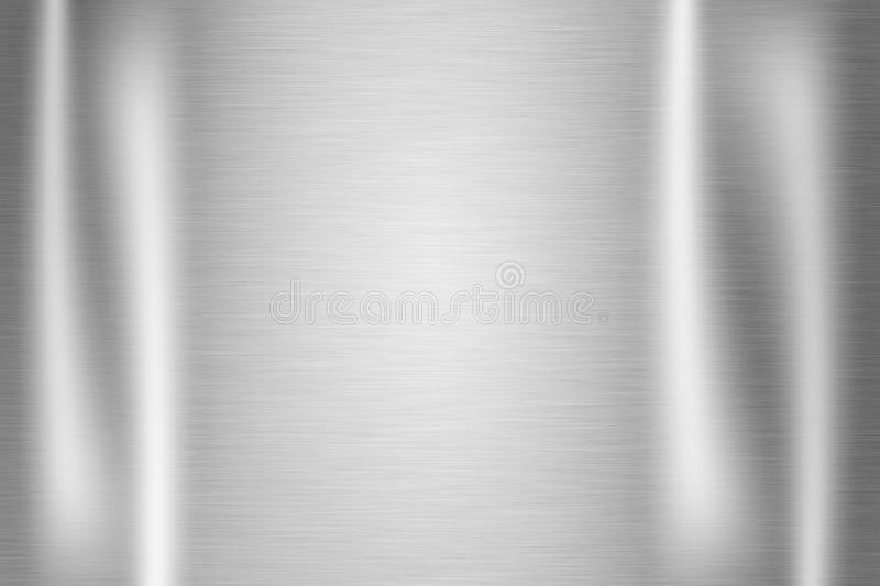 Stainless steel texture royalty free illustration