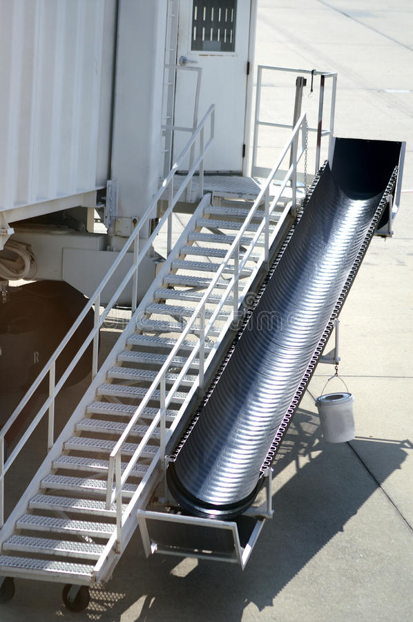 Stair Attachment for AirPlane royalty free stock image