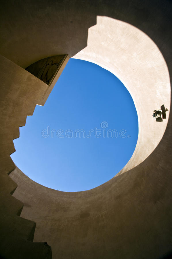 Stair, Barka Fort, Oman stock images