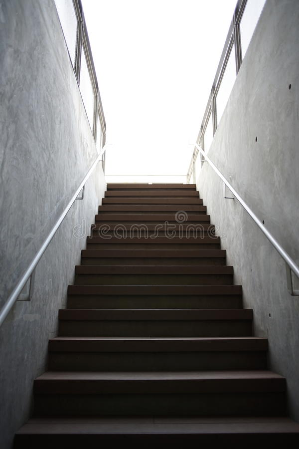 Download Stair Concrete Wall And Railing Stock Photo   Image Of Abstract,  Railing: 88165952