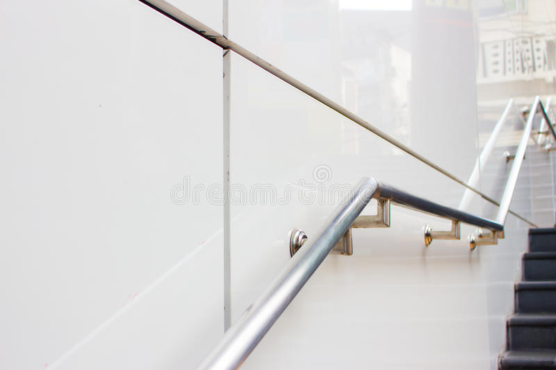 Download Stair And Holder Stock Photo   Image: 63718875