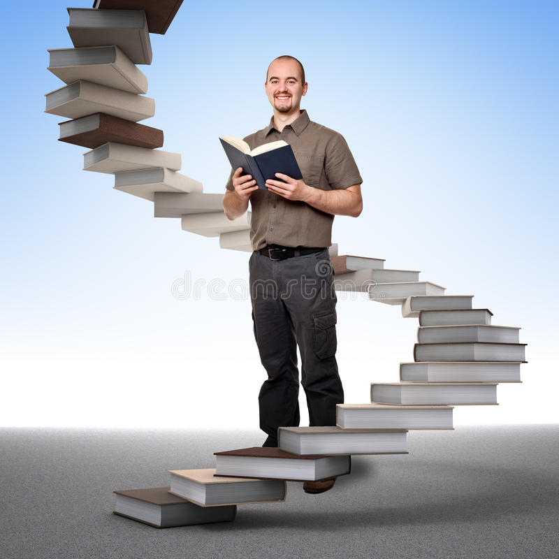 Stair of learning and success