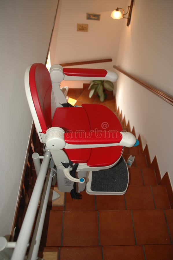 Stair lift stock image