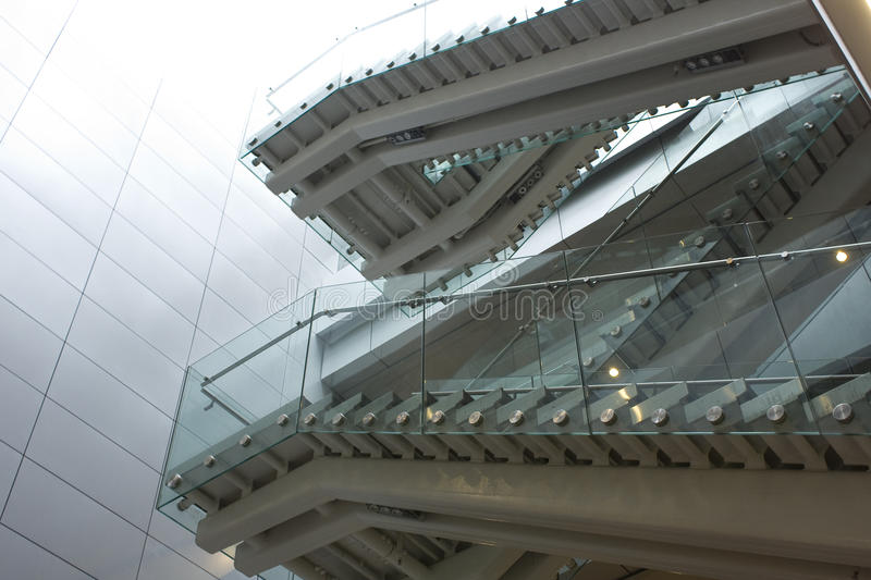 Download Stair In Modern Building At Daytime Stock Image - Image: 15383299