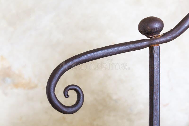 Download Stair railings stock image. Image of ironwork, circle - 25776071