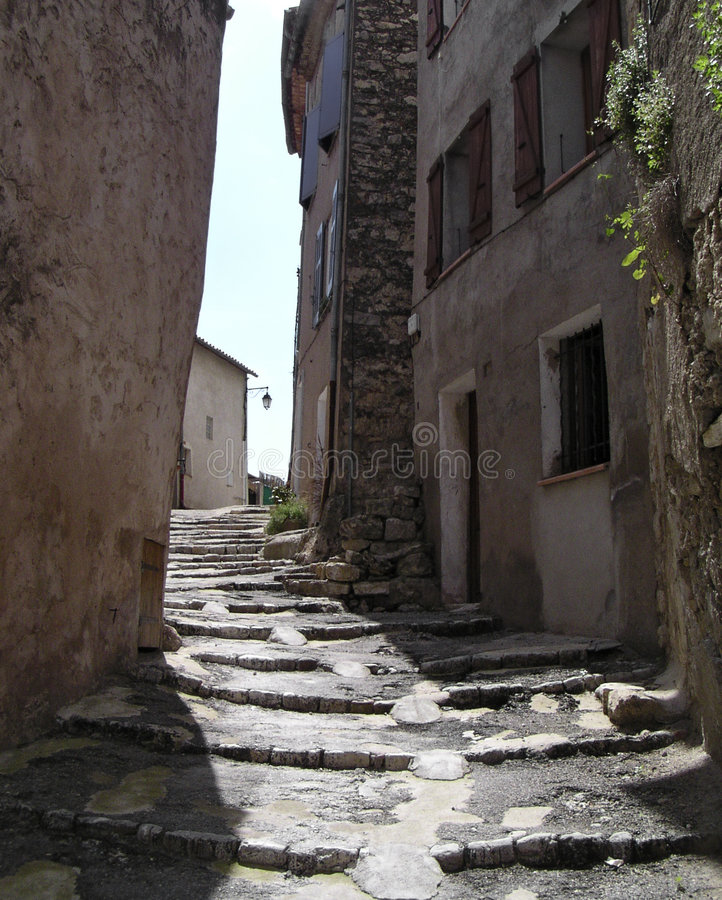 Download Stair's Street  In Provence Stock Photo - Image of stones, france: 144436