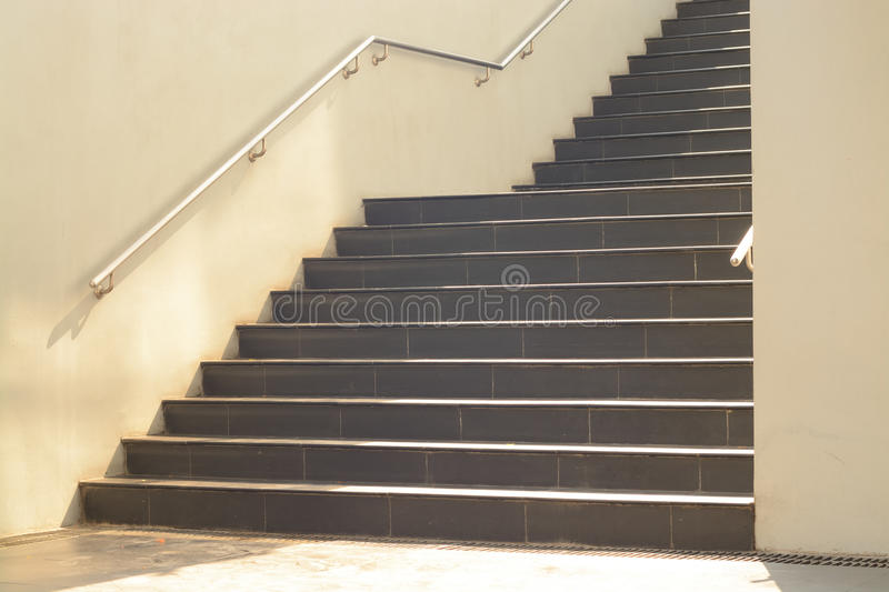 Download Stair Structure And Stainless Roll Bar Steel With Sunlight Stock  Image   Image Of Sunlight