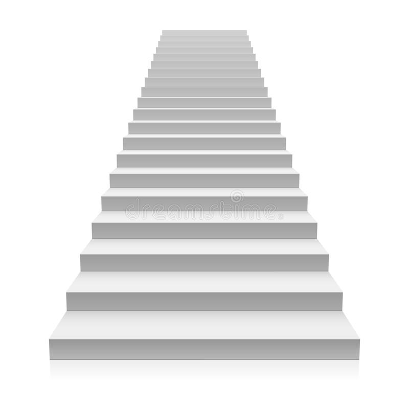 Staircase royalty free illustration