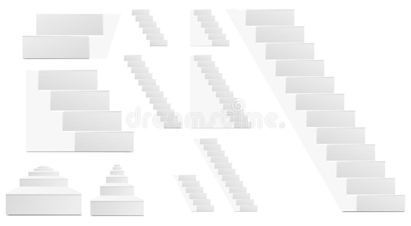 Download Staircase stock vector. Illustration of icon, progress - 19842668