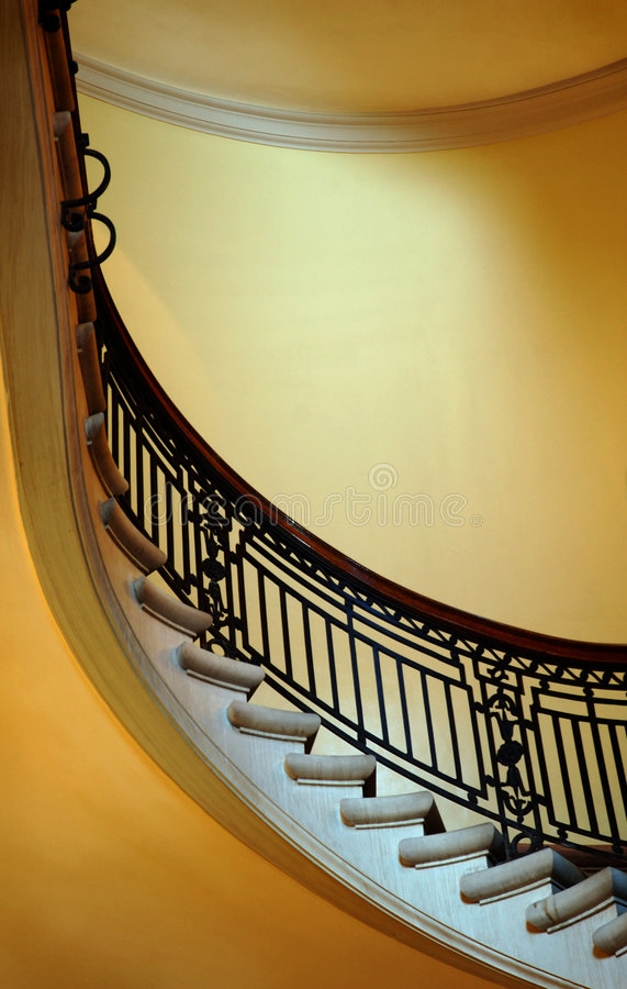 Staircase. Winding staircase