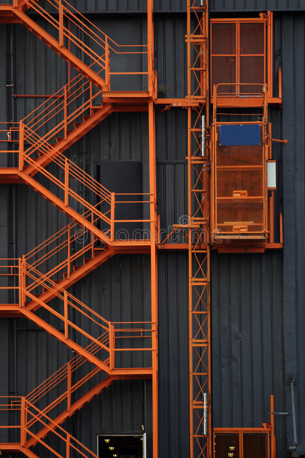 Download Staircase And Elevator Stock Image. Image Of Height, Lift    12760095