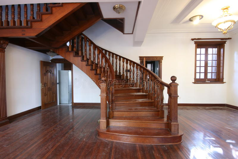 Staircase in a historic building royalty free stock photo