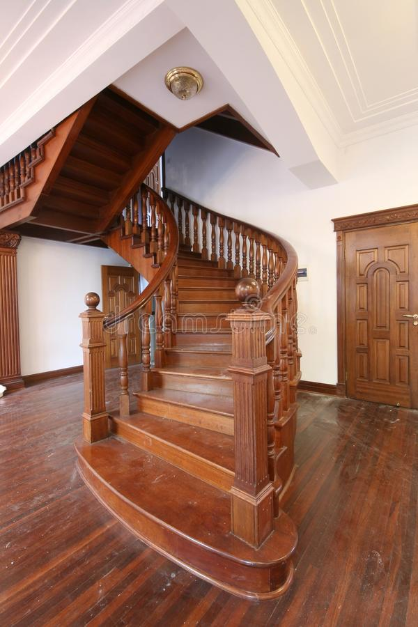Staircase in a historic building stock photos