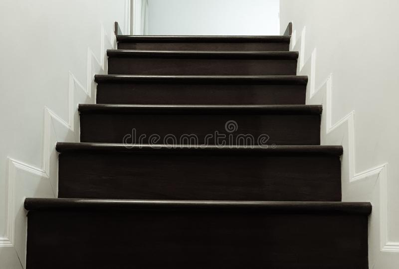 Staircase in house royalty free stock photos