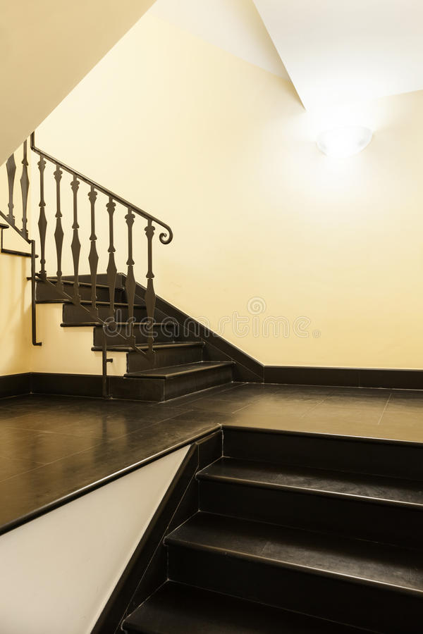 Staircase. Interior, staircase of the old palace royalty free stock images