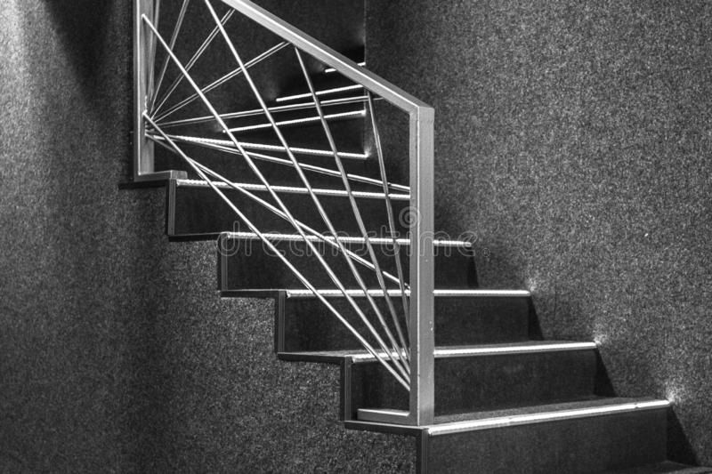 Geometric Stairs Geometric Staircase Melbourne: Geometric Stair And Railings Stock Image