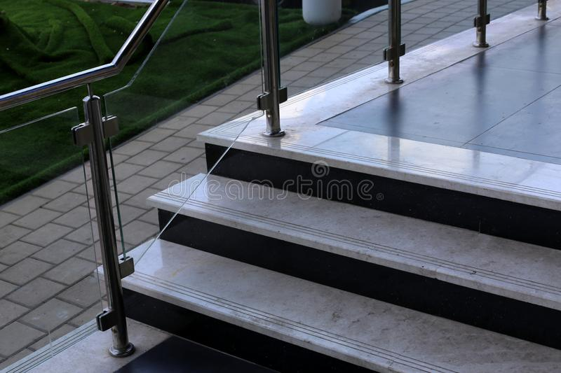 A staircase is a structure in the form of a series of steps for ascent and descent. A staircase is part of the structure of a building and structure in the form stock photos