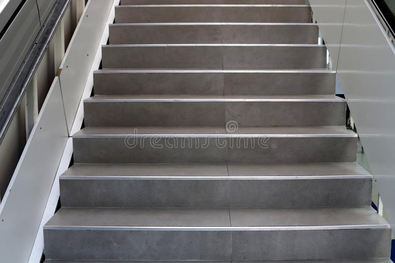 A staircase is a structure in the form of a series of steps for ascent and descent. A staircase is part of the structure of a building and structure in the form stock photography