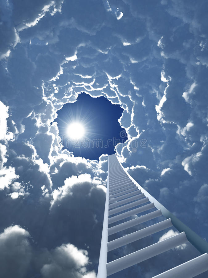Free Staircase To Heaven Royalty Free Stock Photo - 16639915