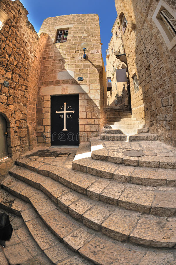 Free Staircases Of Jaffa Royalty Free Stock Image - 9750146