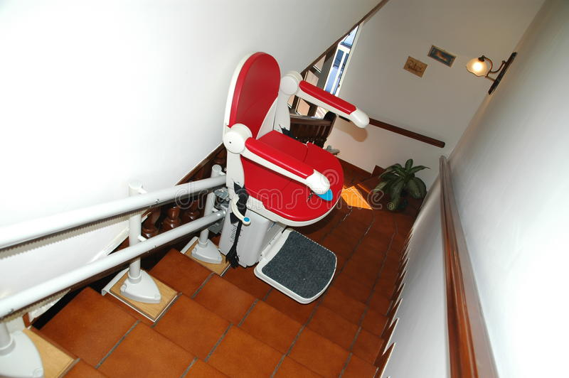 stairlift 库存照片
