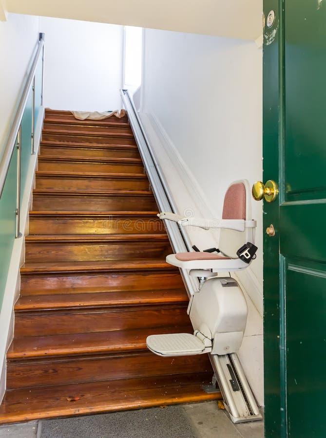 Stairlift arkivfoto
