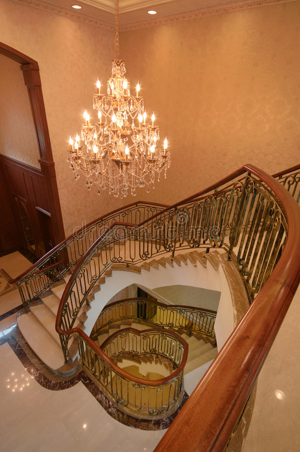 Download Stairs stock photo. Image of curved, stairs, home, real - 10670682