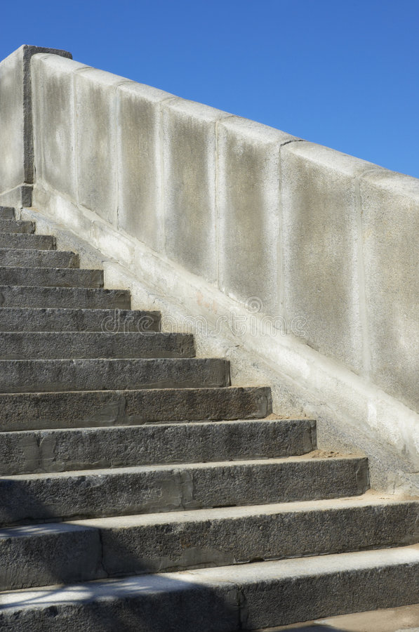 Download Stairs stock photo. Image of stairs, graduated, blue, granite - 169688