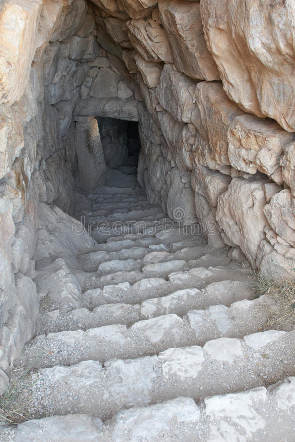 Download Stairs stock image. Image of stone, underground, greece - 23758319