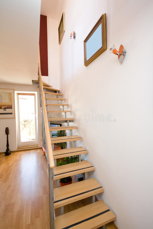 Download Stairs stock image. Image of architecture, wooden, indoor - 27005411