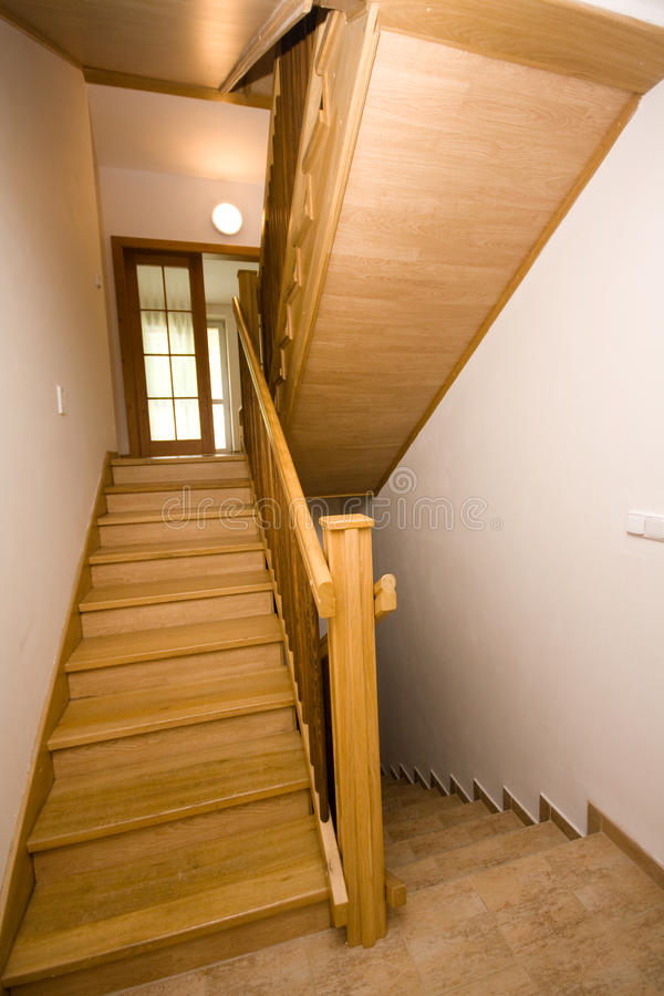 Download Stairs stock image. Image of indoor, wood, interior, architecture - 27005731