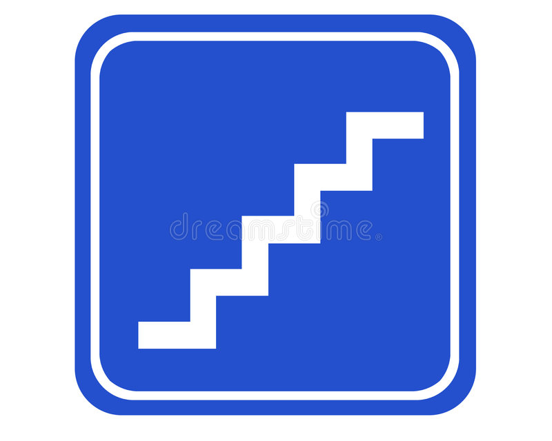 Download Stairs stock illustration. Image of walk, corridor, pictogram - 514218